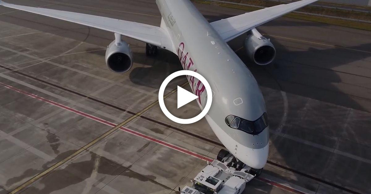 Qatar-Airways nimmt neuen Airbus in Betrieb - so sieht der Koloss von innen aus