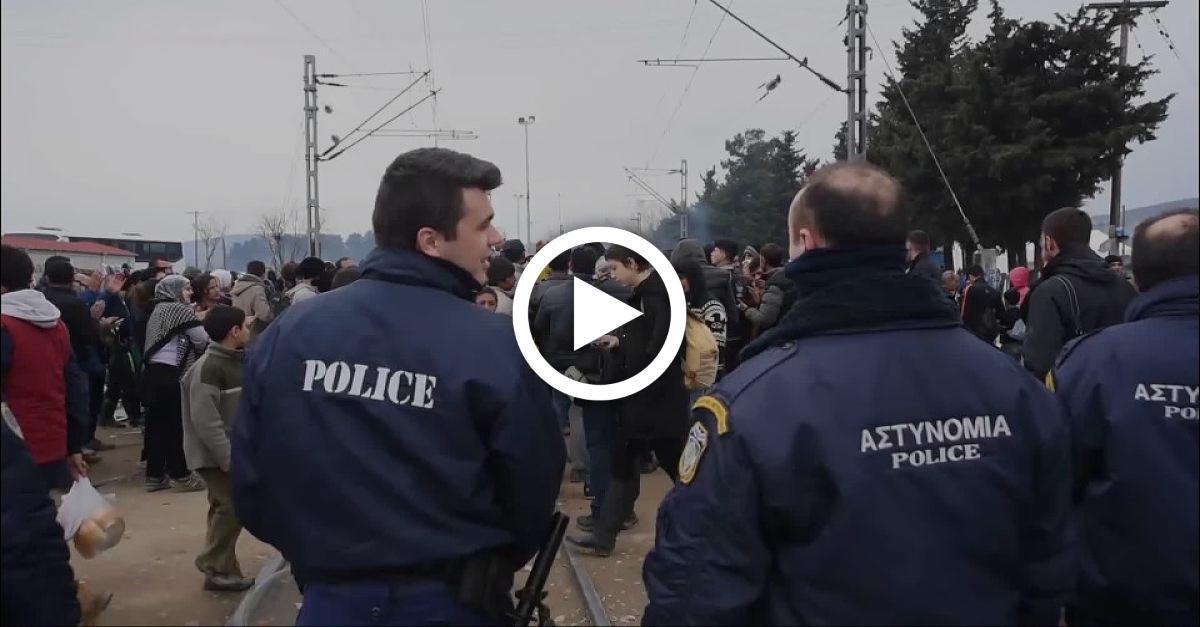 Damit sie keinen Asyl-Antrag stellen: Balkan-Polizei geht offenbar brutal gegen Flüchtlinge vor
