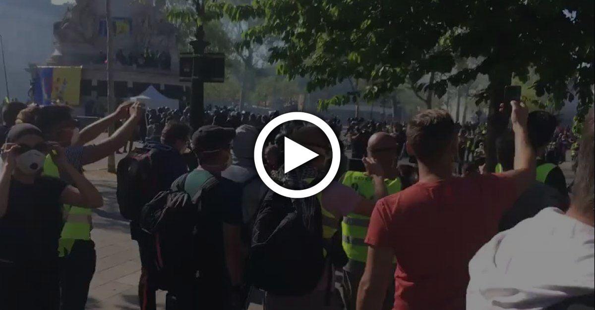 Video aus Paris sorgt für Empörung: Gelbwesten rufen Polizisten zu Suizid auf