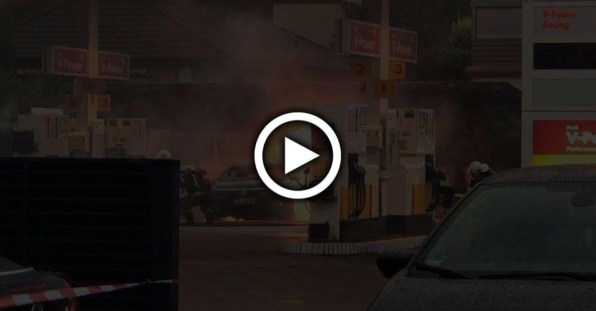 Hessen: Frau tankt falschen Kraftstoff -was dann passiert, ist unfassbar