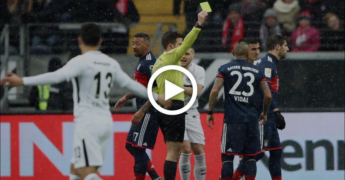 Frankfurt-Boss: Schiris trauen sich nicht, Bayern-Spieler vom Platz zu schicken