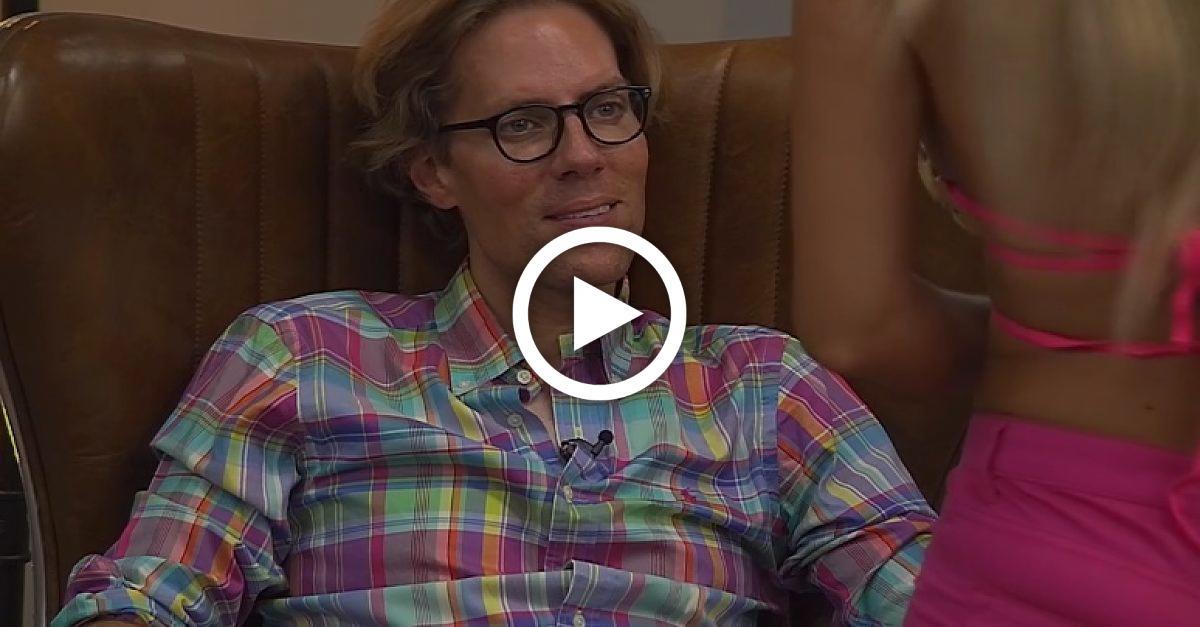 Jens Hilbert verliert wegen Maria Yottas Brüsten die Fassung