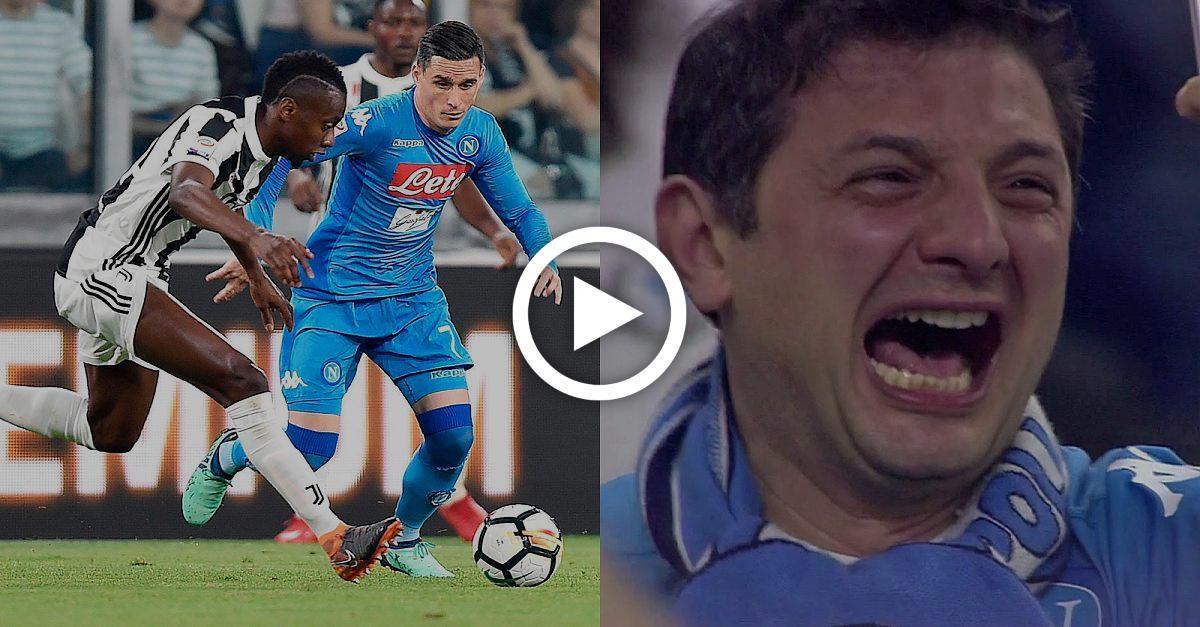 Alles wieder offen! Neapel jubelt über dramatischen Sieg gegen Juve wie über Titel