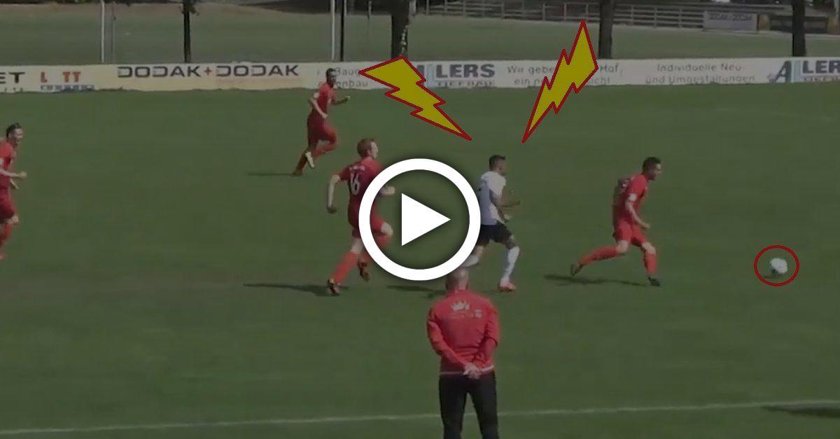 Gareth Bale der Hessenliga? Ali ist unfassbar schnell und natzt auch noch den Keeper