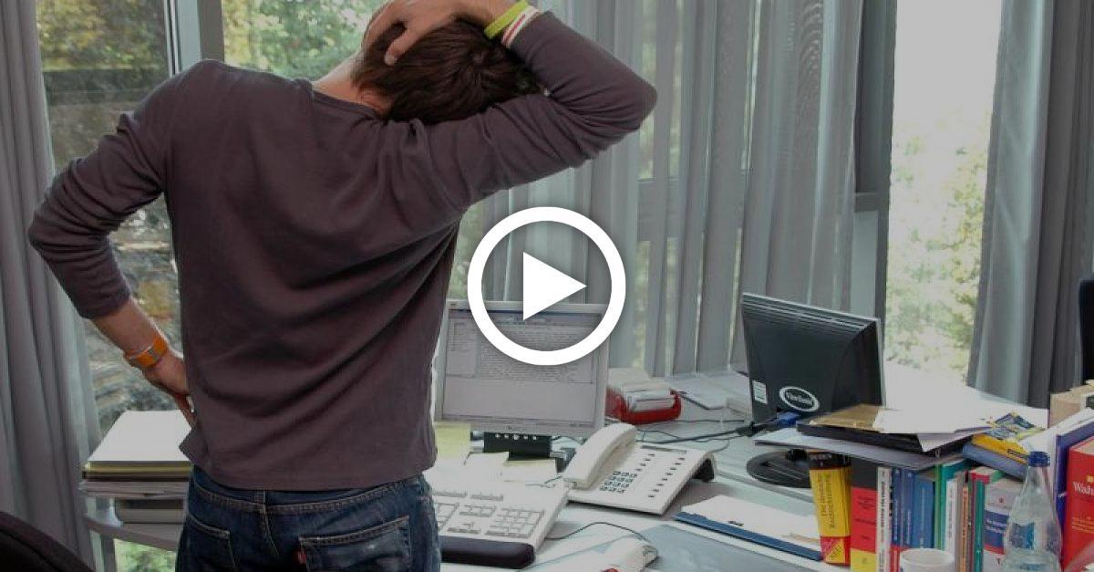 Verspannungen: Vier einfache Übungen lockern deinen Rücken sofort