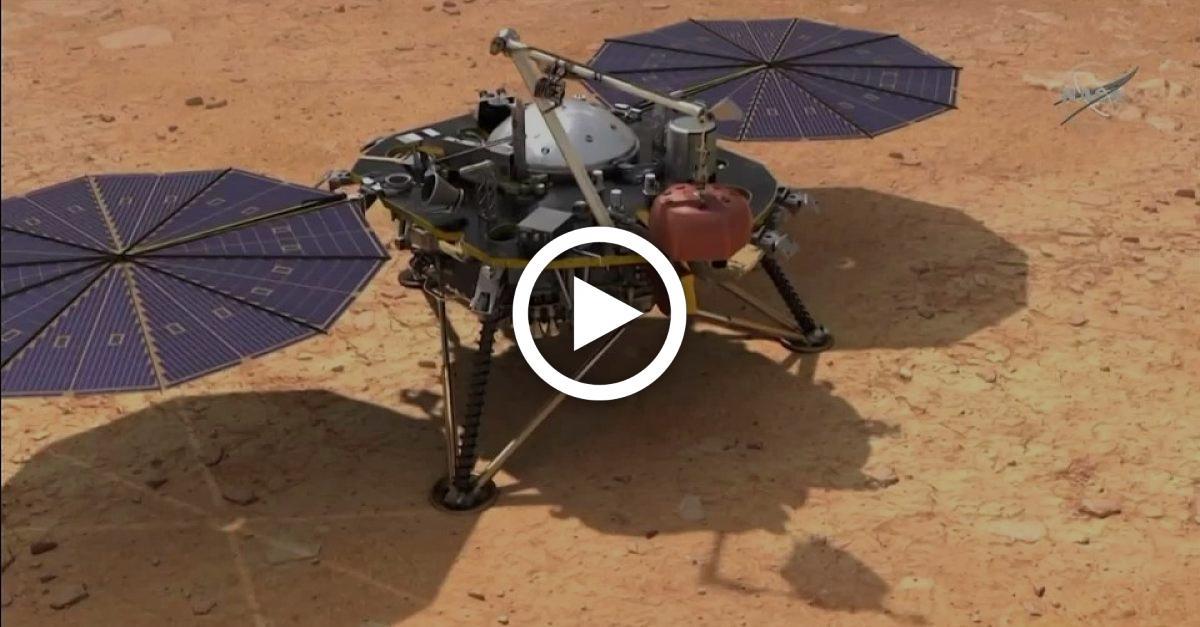 """Erste Tonaufnahmen von Mars: """"InSight"""" zeichnet außerirdische Geräusche auf"""