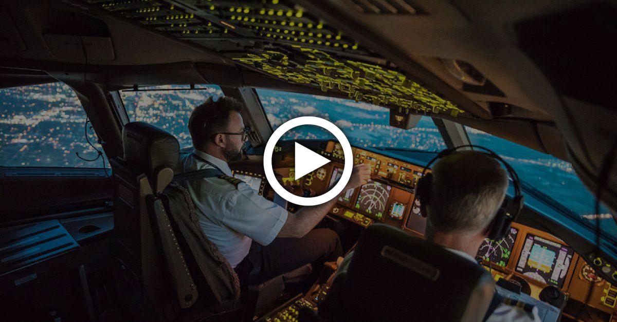 Autopilot ein und Augen zu? Pilot erzählt von Langstreckenflügen