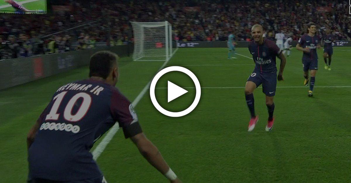 Im Video: Bei Neymars magischer Show in Paris ist Draxler nur Kurzzeit-Statist
